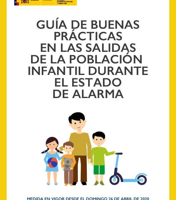 GUÍA DE BUENAS PRÁCTICAS EN LAS SALIDAS DE LA POBLACIÓN INFANTIL